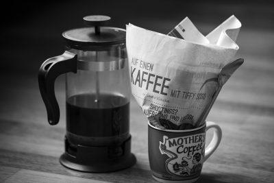 Auf einen Kaffee